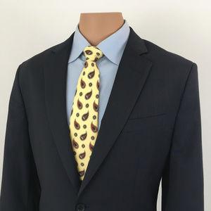 Banana Republic Suit Jacket Navy Blue - Size 42R